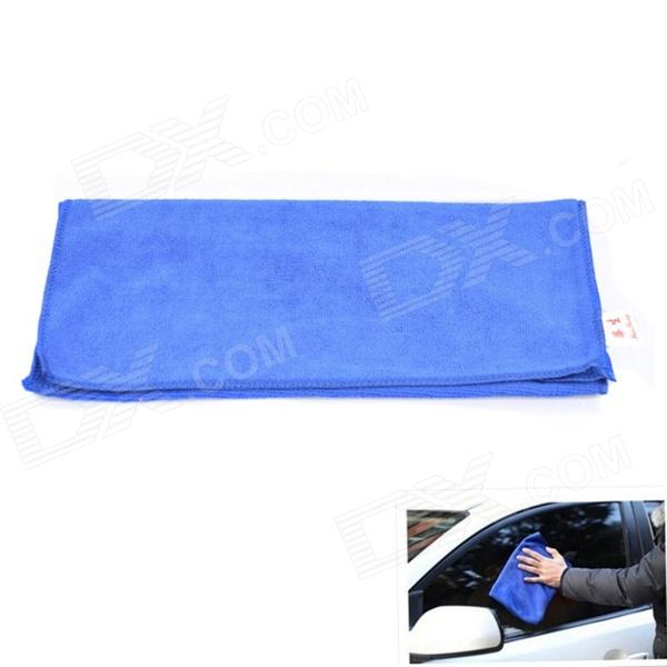 Buy 60 x 30cm Multi-functional Microfiber Nanometer Car Washing / Hand Towel - Blue with Litecoins with Free Shipping on Gipsybee.com