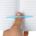 Unique Convenient Thumb Thing Book Holder- Blue (21mm Diameter)