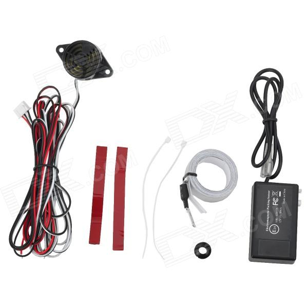 Buy ZnDiy-BRY U-301 Electromagnetic Parking Sensor - Black with Litecoins with Free Shipping on Gipsybee.com
