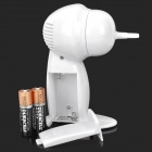A975 Portable Electric Ear Cleaner Set - White (2*AA)