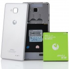 "JIAYU JY-G3 MTK6589T Quad-Core Android 4.2.1 WCDMA Bar Phone w/ 4.5"" IPS HD, Wi-Fi and GPS - Silver"