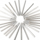 30-in-1 Multifunction Diamond Coated Grinding Burrs - Silver