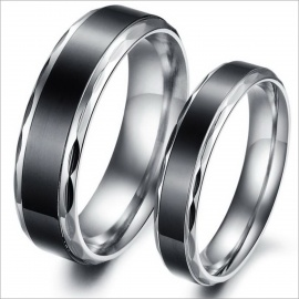 Simple-Retro-Fashionable-Personality-Stainless-Steel-Couple-Rings-Silver-2b-Black-(US-Size-9-2b-7)