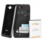 "Utime FX Quad-Core Android 4.2 WCDMA Bar Phone w/ 5.0"" OGS IPS, Wi-Fi, GPS and Dual-SIM - Black"