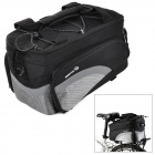 ROSWHEEL-14236-Outdoor-Cycling-Extendable-Nylon-Bike-Back-Bag-w-Shoulder-Strap-Silver-2b-Black