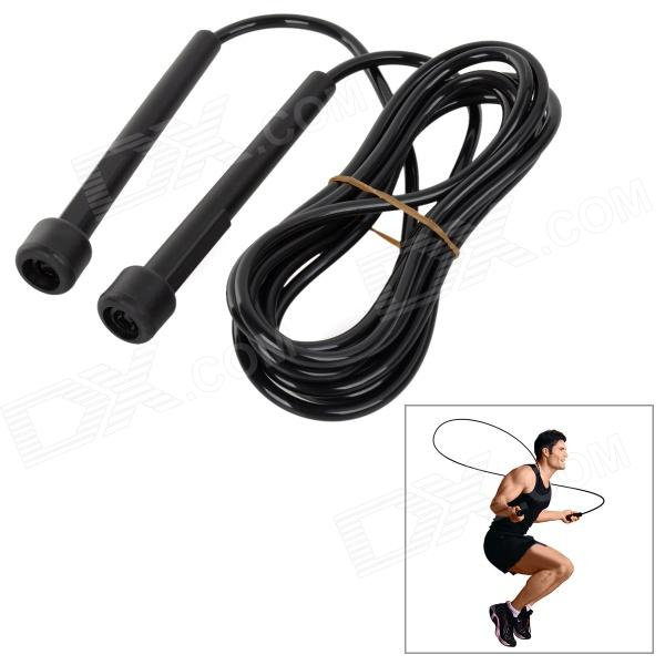 Buy Exercise Skipping Jumping Rope - Black (280cm-Rope) with Litecoins with Free Shipping on Gipsybee.com