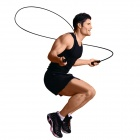 Exercise Skipping Jumping Rope - Black (280cm-Rope)