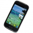 "i9600 MTK6572 Android 2.3.6 GSM Bar Phone w/ 5.0"", Quad-Band, FM and Wi-Fi - Black"