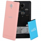 "XIAOCAI X9 Quad Core Android 4.2 WCDMA Bar Phone w/ 4.5"" OGS IPS, 1GB RAM, 4GB ROM, GPS - Pink"