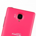"XIAOCAI X9 Quad Core Android 4.2 WCDMA Bar Phone w/ 4.5"" OGS IPS, Wi-Fi, GPS - Black + Deep Pink"