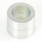 10050098W Strong NdFeB Magnet Ring - Silver (10PCS)