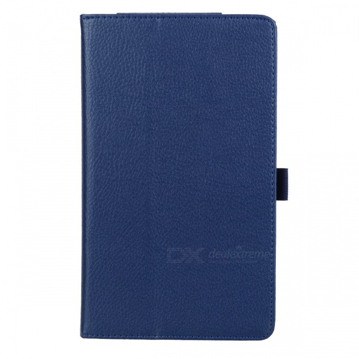 Buy Stylish Flip-open Litchi Pattern PU Leather Case w/ Holder  for Google Nexus 7 II - Sapphire with Litecoins with Free Shipping on Gipsybee.com
