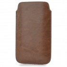 Suojaava PU Leather Case Punch Bag Samsung Galaxy Note 3 N9000 - Ruskea
