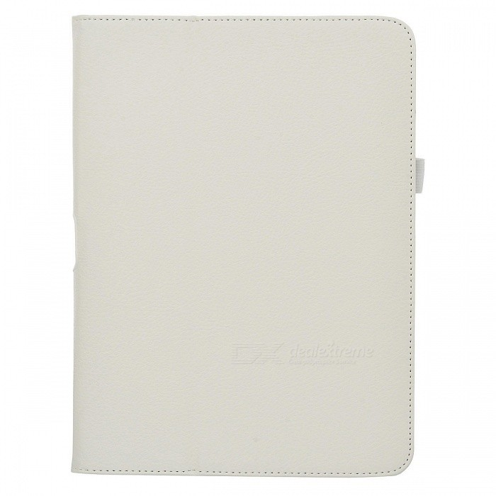 Protective PU Leather Flip Open Case for Samsung Galaxy Tab3 P5200 - White