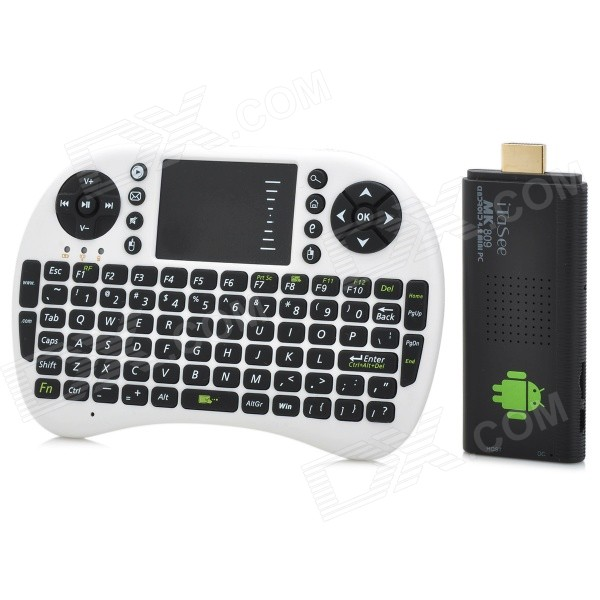 iTaSee MK809BIII Google TV Player w/ 2GB RAM, 8GB ROM, Mouse - Black