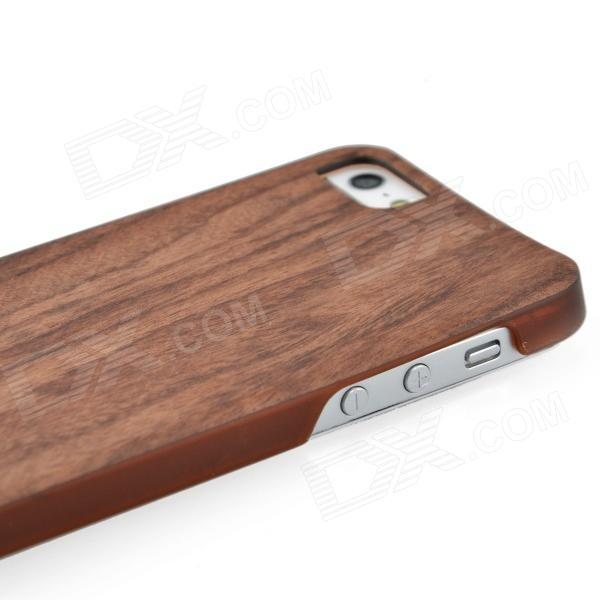 wood iphone 5 case joyroom protective wooden back for iphone 5 wood 6486