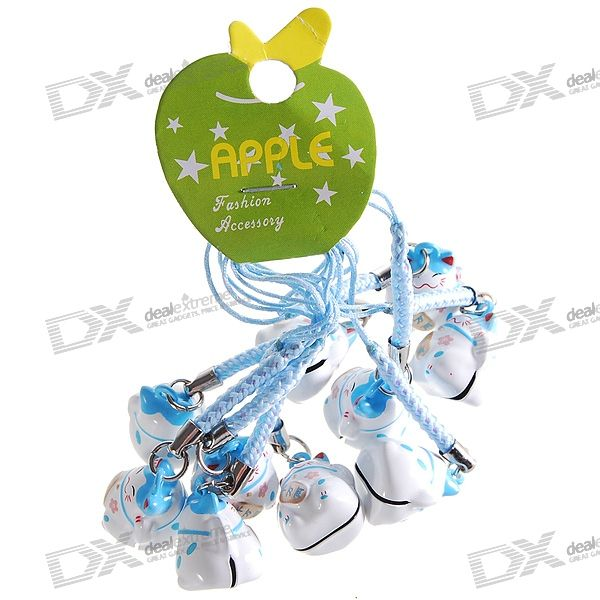 Maneki Neko Small Bell Cell Phone Strap 10 Pack Buy At The Price Of 4 97 In Dx Com Imall Com