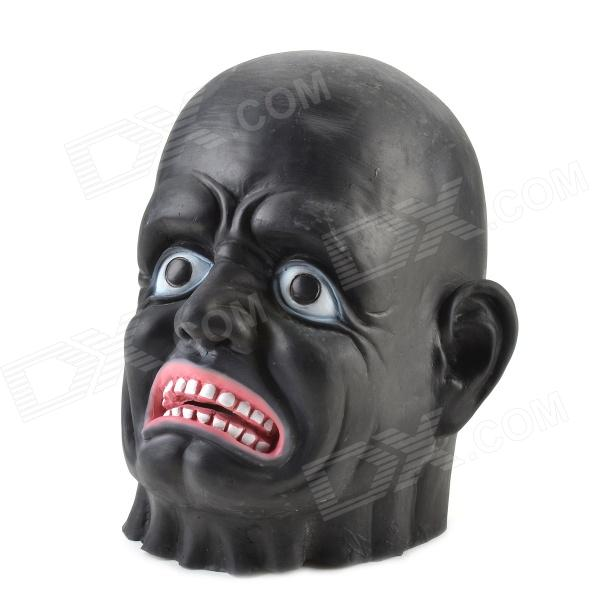 Buy Halloween Black Long-face Ghost Mask - Black + Red with Litecoins with Free Shipping on Gipsybee.com