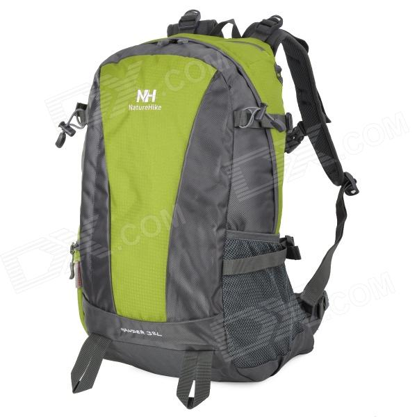 Naturehike-NH-Convenient-Outdoor-Sporty-Water-Resistant-420D-Nylon-Backpack-Green-2b-Gray-(38L)