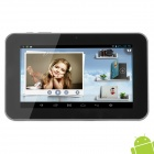 Ampe A76 7″ Android 4.2.2 Dual Core Tablet PC w/ 512MB RAM / 8GB ROM / G-Sensor – Black