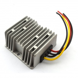 Waterproof-DC-DC-12V-24V-to-5V-10A-50W-Buck-Converter-Car-Display-Power-Supply-Module-Silver
