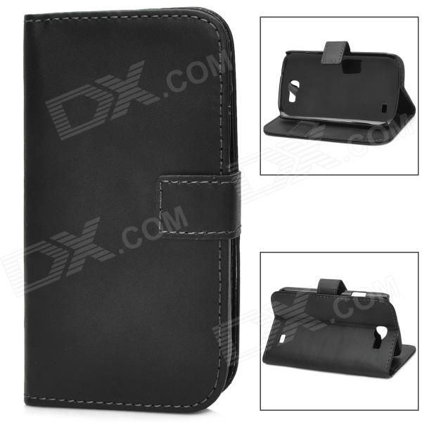 Protective PU Leather Flip Open Case for Samsung Galaxy Express i8730 - BlackLeather Cases<br>ModelsSamsungMaterialPUForm  ColorBlackQuantity1Compatible ModelsSamsungOther FeaturesPersonalizePacking List1 x Case<br>