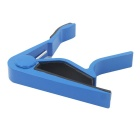 Aluminum Alloy Clip-On Quick Release Capo for Acoustic Guitar - Blue + Black