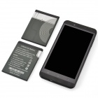 "S6 MTK6589T Android 4.2 Quad-Core WCDMA Bar Phone w/ 5"", Wi-Fi, GPS, FM, RAM 1GB, ROM 16GB - Black"