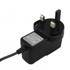 SingFire UK Plug Power Adapter - Black (3.5 x 1.35mm / 117cm-Cable / AC 100~240V)