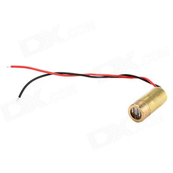 10050110W 50mW 650nm Red Light Laser Diode - Golden (3V)DIY Parts &amp; Components<br>Model10050110WQuantity1Form  ColorRedMaterialCopperEnglish Manual / SpecYesPacking List1 x Laser Diode<br>