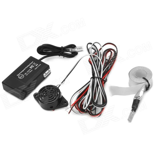 Buy U301 Auto Electromagnetic Back-Up Parking Sensor - Black with Litecoins with Free Shipping on Gipsybee.com