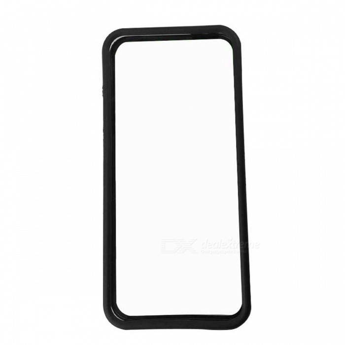 Protective PC + TPU Bumper Frame for Iphone 5 / 5S - Black + Translucent