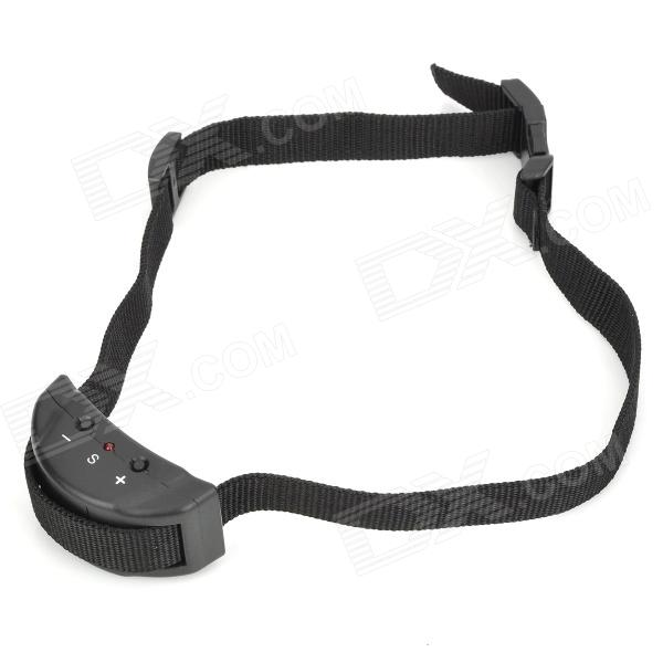Buy Petainer 853 Pet's Dog Training Anti-Barking Collar - Black with Litecoins with Free Shipping on Gipsybee.com