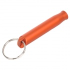 Creeper Handy Outdoor Aluminum Alloy Survival Whistle - Orange