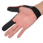 06 Professional Thumb + Index Finger Neoprene Glove for Fishing - Black + Red