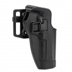 Convenient-Quick-release-Nylon-2b-Plastic-Waist-Pistol-Holder-for-M92-Black