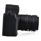 Cute Cartoon Camera Style USB 2.0 Flash Driver Disk - Black (8GB)
