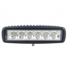LML-1918-18W-6000K-1350lm-6-6-LED-White-Light-Ultrathin-LED-Offroad-Spot-Beam-Lamp-Black
