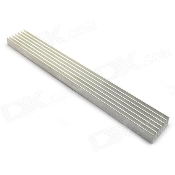 High Performance Aluminum Heat Sink - SilverDIY Parts &amp; Components<br>Model40120030Quantity1Form  ColorSilverMaterialAluminumEnglish Manual / SpecYesPacking List1 x Heat sink<br>