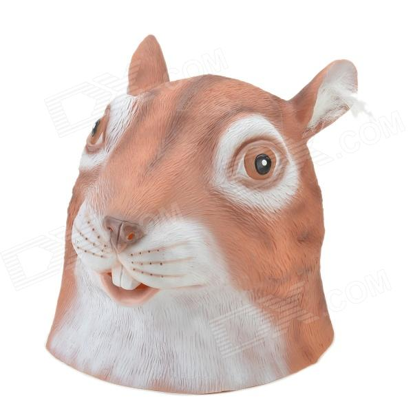 Buy SYVIO Squirrel Mask - Brown + White with Litecoins with Free Shipping on Gipsybee.com