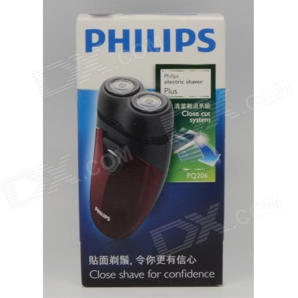 Buy Philips PQ206 Mens Hair Beard Dry Electic Shaver Razor 2X AA Battery Operated with Litecoins with Free Shipping on Gipsybee.com