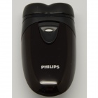 Philips PQ206 Mens Hair Beard Dry Electic Shaver Razor 2X AA Battery Operated