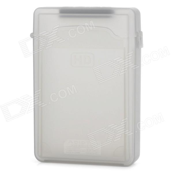"""Protective Plastic Case for 3.5"""" SATA HDD - Translucent"""