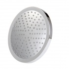 8 inch ABS RGB Color Changing LED Round top Shower Head - Silver