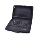 Wireless Bluetooth V3.0 59-Key Keyboard mit PU Ledertasche für Samsung Galaxy T310 / T311 - Schwarz
