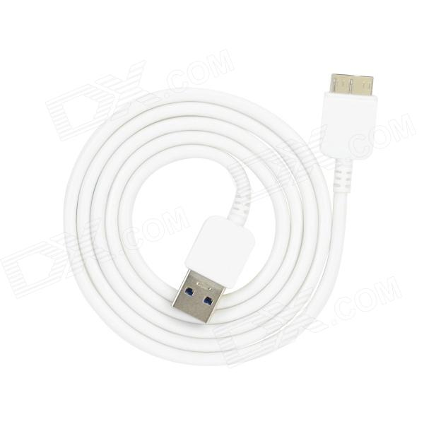 USB Data Charging Cable for Samsung Galaxy Note 3 N9000 - White (1M)