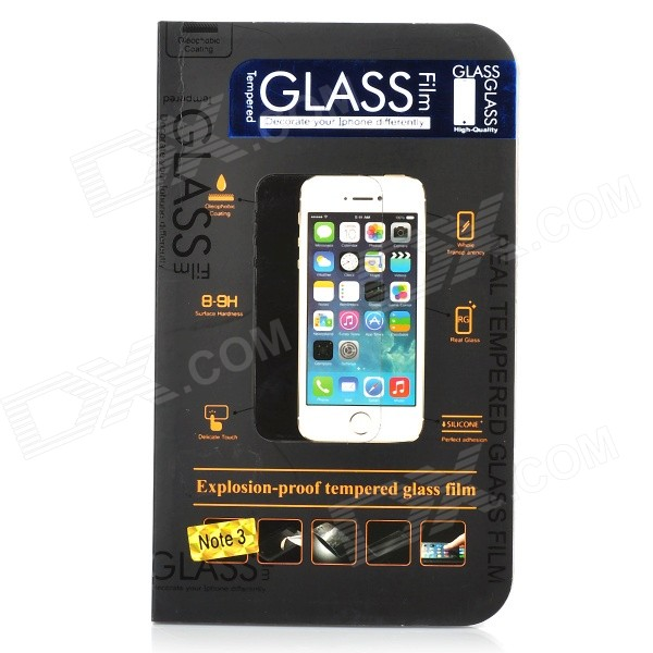 Protective Tempered Glass Film Guard Protector for Samsung Galaxy Note 3 / N9000 - Transparent
