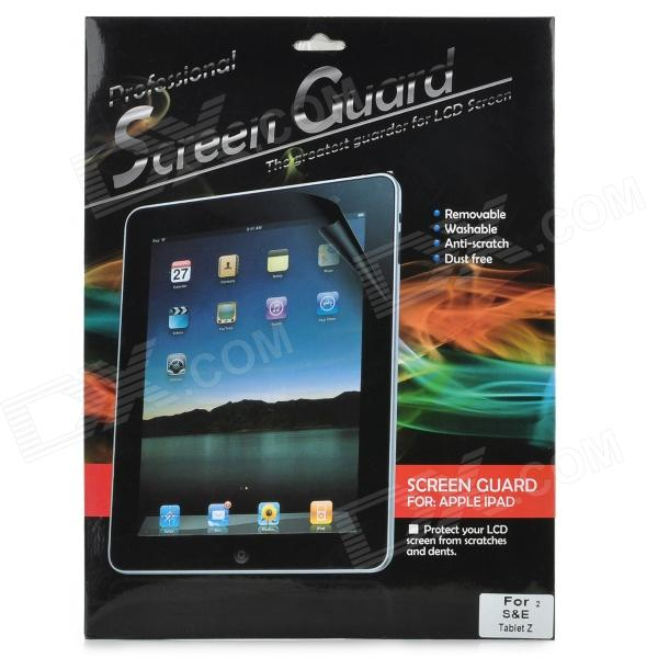 5H Protective Clear Screen Protector Film Guard for Sony Xperia Tablet Z - Transparent (2 PCS)