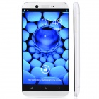 "S6 MTK6589T Android 4.2 Quad-Core WCDMA Bar Phone w/ 5"", Wi-Fi, GPS, FM, RAM 1GB, ROM 16GB - White"
