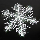 Christmas Decoration Sticking Snowflake - White (3 PCS)